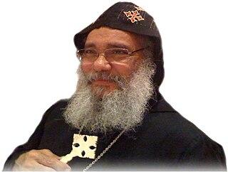 Bishop Missael Bishop of the Coptic Orthodox Diocese of the Midlands, U.K.
