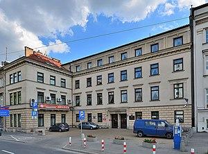 "Polish Ombudsman - Polish Ombudsman's Office at 77 ""Solidarnośc"" Avenue in Warsaw"