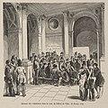 Bivouac des volontaires dans la cour de l'Hôtel de Ville, 26 février 1848.jpg