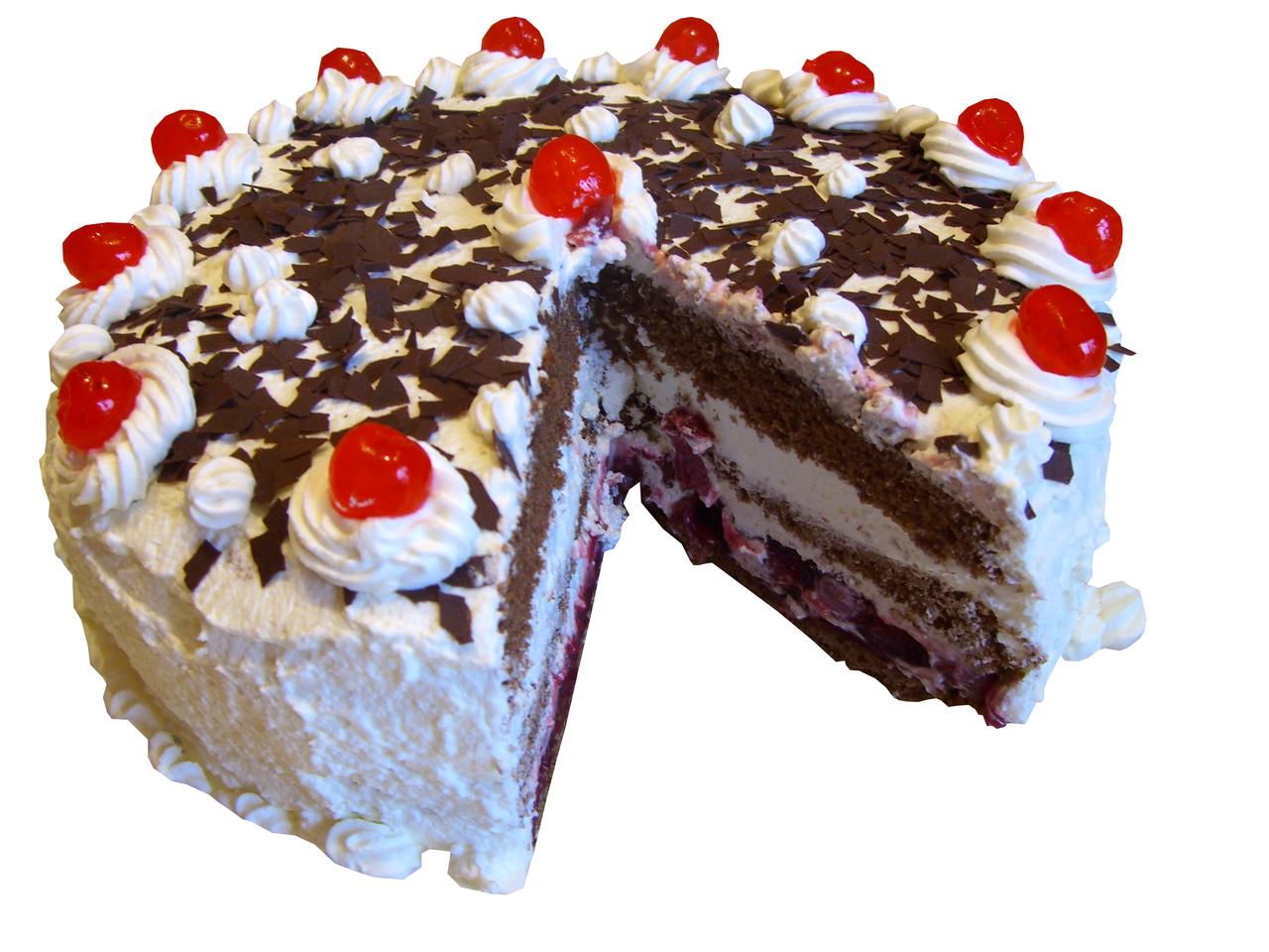 Black Forest Gateau Birthday Cake To Buy