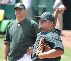Joe Blanton - Blanton with the Athletics
