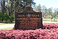 Blue Star Memorial Highway marker, Georgia Veterans State Park.JPG