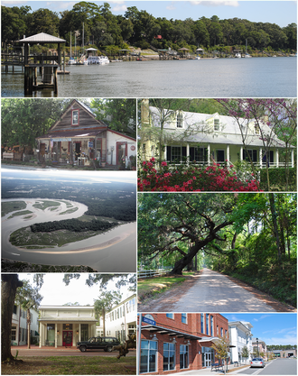 Bluffton, South Carolina - Image: Bluffton Montage 2012