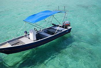 Clear waters of Salang Beach at Tioman Island