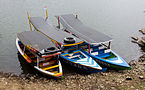 Boats at Situ Patenggang Lake, 2014-08-21.jpg