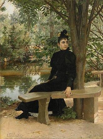 Nikolai Bodarevsky - Image: Bodarevsky By the Pond