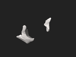 BodyParts3D FJ6483 FJ6397 Zygomatic bone.stl