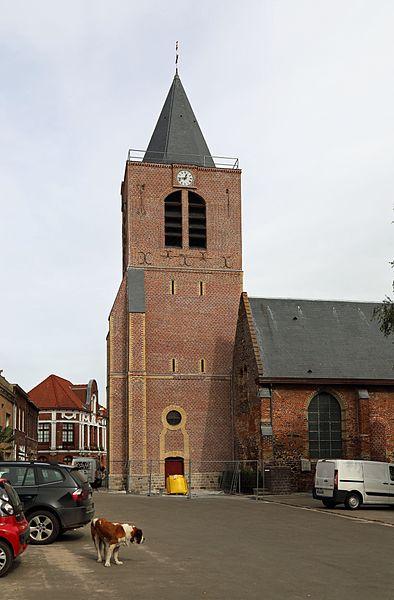 Boeschepe (département du Nord, France): St Martin's church