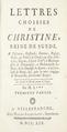 Bok om drottning Kristina baserad på brev - Skoklosters slott - 91433.tif