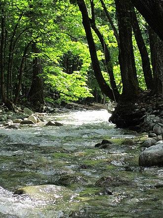 Stehekin River - Image: Boulder creek