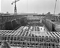 Bouw Caisson voor Coentunnel in Amsterdam-Noord Overzicht IJ-caisson, Bestanddeelnr 915-0230.jpg