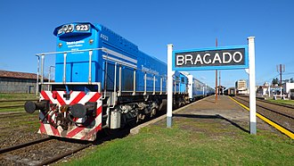 Bragado - Image: Bragado Train Station