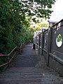 Braník, schodiště z ulice Na rozhledu.jpg