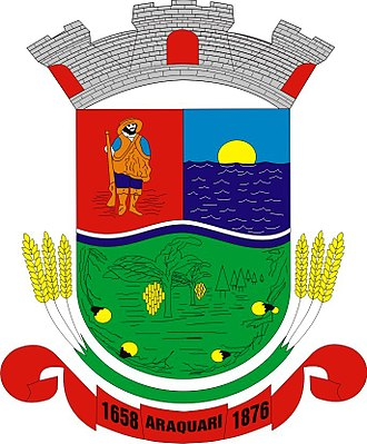 Araquari - Image: Brasao Araquari Santa Catarina