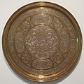 Brass tray inlaid with silver, Egypt or Syria, 19th century, HAA II.JPG