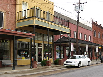 Breaux Bridge, Louisiana - Shops in Breaux Bridge.