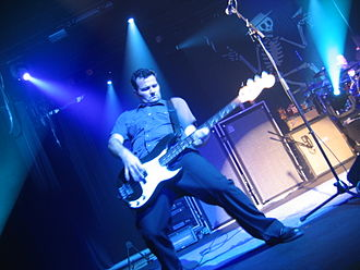 Brent Harding - Harding with Social Distortion in New York City at the Nokia Theater, October, 2005