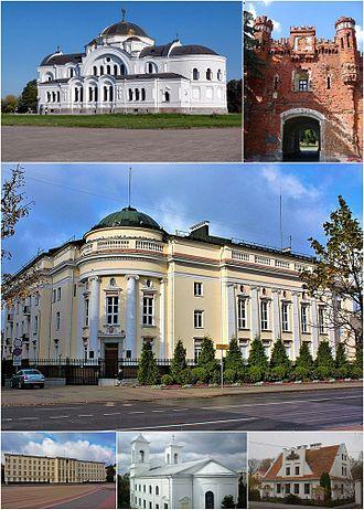 Brest, Belarus - Image: Brest Montage (2017)