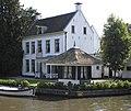 Breukelen - Vecht en Dan met koepeltje met rieten dak RM10595.JPG