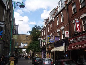 Bethnal Green and Bow (UK Parliament constituency) - Brick Lane