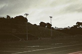 Brick (film) - San Clemente High School Football Field