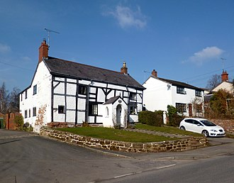 Listed buildings in Saughall - Image: Bridge Farmhouse, Saughall