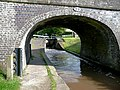 Bridge No 79 and the bottom lock at Audlem, Cheshire - geograph.org.uk - 1327237.jpg