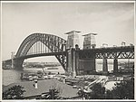 Bridge and Bradfield Park from Milsons Point, 1932 (8282695291).jpg