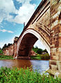 Bridge over the River Dee at Chester.jpg
