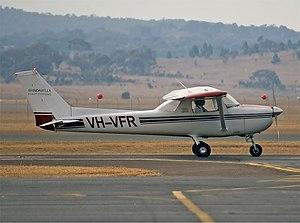 Brindabella Airlines Cessna 150M CBR Gilbert.jpg