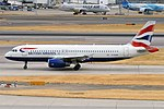 British Airways, G-EUUR, Airbus A320-232 (42595962430).jpg