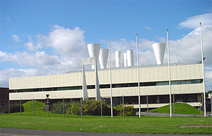 Gas Council Engineering Research Station - Image: British Gas building, Killingworth, England