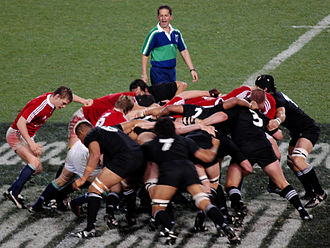 British and Irish Lions - The British and Irish Lions against the All Blacks in 2005