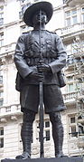 British memorial to the Gurkhas - statue