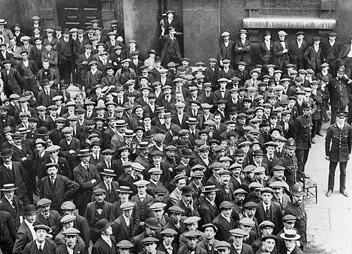 British recruits August 1914 Q53234