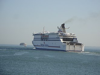 MV Cap Finistère - Image: Brittany Ferries Cap Finistere 2