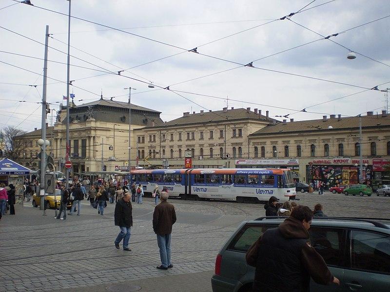 Vlakové nádraží v Brně | autor: Michal Klajban