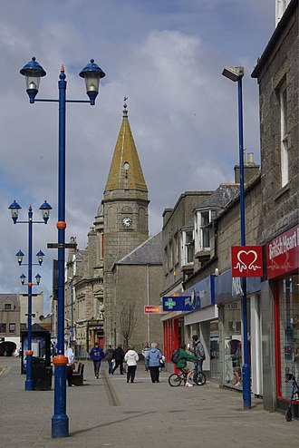 Fraserburgh Old Parish Church - Image: Broad Street, Fraserburgh (geograph 1863298)
