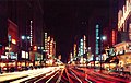 Broadway signs at night looking south from 5th Street, Los Angeles, 1950s.jpg