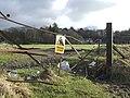 Broken gate at Lunderston Bay - geograph.org.uk - 461016.jpg