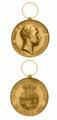 Bronzen medaille ter herinnering aan Friedrich Franz III van Mecklenburg-Schwerin 1897.png