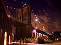 Brooklyn Bridge at Night taken from Brooklyn Bridge Park.jpg