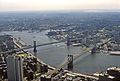 Brooklyn and Manhatten Bridges and East River.jpg