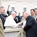 Bruno with Pope Francis.jpg