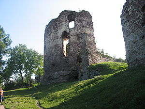 Buchach castle - The castle in 2004