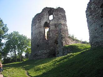 Buchach castle - The castle in 2004