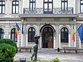Bucuresti, Romania. Muzeul Colectiilor de Arta (Palatul Romanit) Intrarea; B-II-m-B-19862.JPG