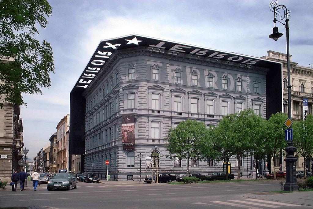 Maison de la Terreur, musée du totalitarisme à Budapest.