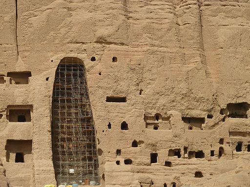 Buddha statues in Bamyan