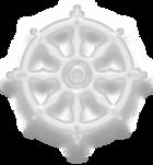 BuddhismSymbolWhite